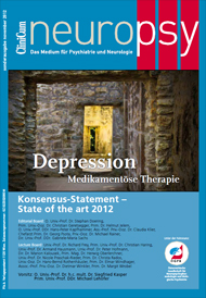 Depression - Medikamentöse Therapie Konsensus - State of the art 2012